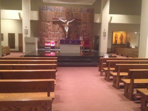 St. John The Evangelist, 348 E. 55th St, is the church that Our Lady of Peace would fold into. Photo courtesy: Susan Ward.