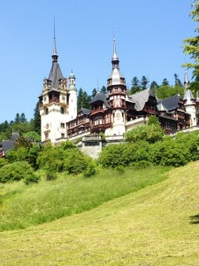 Peles Castle near Sinaia, Romania. Photo courtesy: Andrei Guruianu
